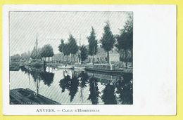 * Antwerpen - Anvers - Antwerp * (Phot H. Pieron - VED) Canal D'Herenthals, Kanaal Van Herentals, Bateau, Péniche, TOP - Antwerpen