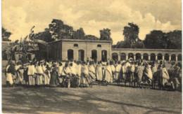 THILDONCK    Mission Des Religieuses Ursulines Au Bengale  Femmes Rentrant Du Catéchisme - Haacht