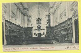 * Floreffe (Namur - Namen - La Wallonie) * Intérieur De L'église Du Séminaire De Floreffe, Vue Prise Du Choeur, Kerk - Floreffe
