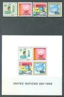 GHANA - 1969 - MNH/** - ONU UNO  - Yv 332-335 BLOC 33A - Lot 17907 - Ghana (1957-...)
