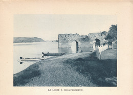 1938 - Héliogravure - Champtoceaux (Maine-et-Loire) - La Loire - FRANCO DE PORT - Old Paper