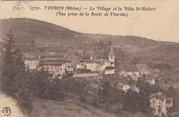 (69) RHÔNE - YZERON - Le Village Et La Villa St-Hubert - France