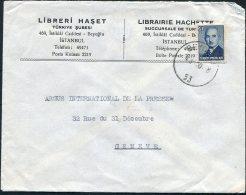 1950 Turkey Librairie Hachette Publisher, Istanbul Cover -  Argus Press Agency, Geneva Switzerland - 1921-... Republic
