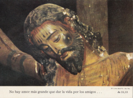 Cochabamba Rostro Del Crucificado De Machaca Ayopaya - Bolivia