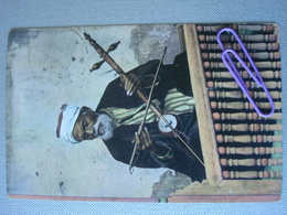 EGYPTE  : Le Musicien En 1907 - Egypt
