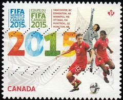 CANADA - Scott #2837 FIFA Woman's World Cup, 2015 / Used - Soccer