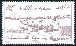 WALLIS ET FUTUNA 2010 - Yv. 741 **   Faciale= 1,72 EUR - Pêche Traditionnelle : Le Faga  ..Réf.W&F22279 - Wallis-Et-Futuna