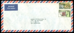 Nigeria Airmail Cover  To Netherlands Mi 659 And 220 - Nigeria (1961-...)