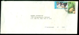 Nigeria Cover  From Lagos To Holland Mi 628 And 674 - Nigeria (1961-...)