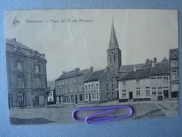 WAREMME: Place De L'école Moyenne En 1926 - Waremme