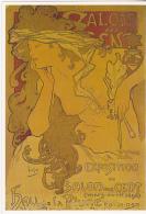 Postcard - Art - Alfons Mucha 1896 - Salon Des Cent - VG - Cartoline