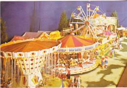 Postcard - F J Loades Famous Miniature Fun Fair, Westfield,  Ipswich - Card No. KN 21986 - VG - Postales
