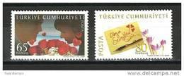 Turkey - 2008 ( World Valentine's Day ) - Set Of 2 - MNH (**) - 1921-... Republik