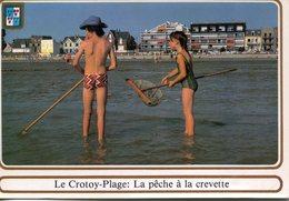80 - Le CROTOY-PLAGE - La Pêche à La Crevette - Le Crotoy