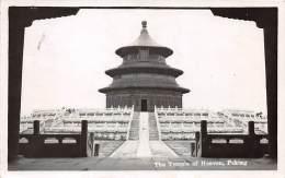 Chine . N° 50124 . Carte Photo . The Temple Of Heaven.peking - Chine
