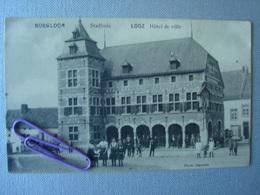 BOEGLOON - LOOZ : Hôtel De Ville - Borgloon