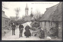 BODILIS 29 - L'Entrée D'un Village Breton - Frankrijk