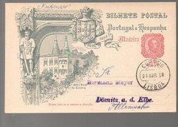 1898 > Hermnn Meyer Dömitz An Der Elbe (167) - Madeira