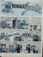 Renault Junior N°16 (mai 1957) BD Premiers Tours De Roue D'un Pneu - - Zonder Classificatie