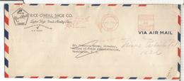 ESTADOS UNIDOS 1943  METER RICE O'NEILL SHOE CO ZAPATOS TEXTIL - Textiles