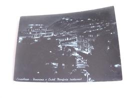 Campobasso - Panorama E Castel Monforte Notturno - Campobasso