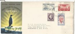 NUEVA ZELANDA CC ROSS DEPENDENCY 1957 TRANS ANTARCTIC EXPEDITION ANTARTIDA POLO SUR SOUTH POLE - Expediciones Antárticas