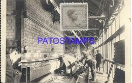 101717 AFRICA CONGO BELGE BELGIUM BELGISCH CONGO USINE METALLURGICAL POSTAL POSTCARD - Postcards
