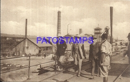 101718 AFRICA CONGO BELGE BELGIUM BELGISCH CONGO KATANGA MINING UNION POSTAL POSTCARD - Postcards