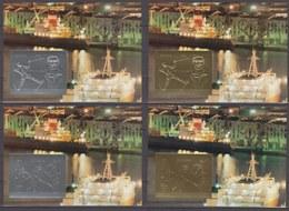 Guyana 01.09.1993 Mi # Bl 311-14, 1994 Lillehammer Winter Olympics, Int'l Stamps Exhibition GENOVA'92 MNH - Invierno 1994: Lillehammer