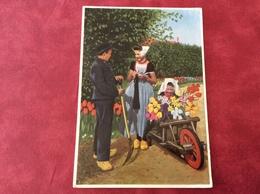 Nederland Holland Pays-Bas Zeeuwse Klederdrachten. Buurpraatje 1960 - Kostums