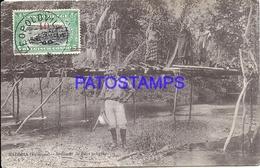 101721 AFRICA CONGO BELGE BELGIUM BELGISCH CONGO MADIMBA BRIDGE NATIVE POSTAL POSTCARD - Postcards