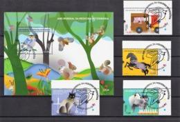 2011 - Medicina Veterinária (Ref. Nº Pu 243) - Used Stamps