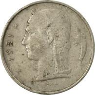 Monnaie, Belgique, Franc, 1951, B+, Copper-nickel, KM:142.1 - 1951-1993: Baudouin I