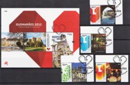 2012 - Guimarães Capital Da Cultura (Ref. Nº Pu 250) - Used Stamps