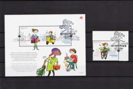 2012 - Erasmus - 25 Anos (Ref. Nº Pu 251) - Used Stamps
