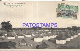 101724 AFRICA CONGO BELGE BELGIUM BELGISCH CONGO ELISABETHVILLE USINE METALLURGICAL POSTAL POSTCARD - Postcards