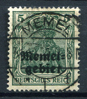 42413) MEMEL # 1 Gestempelt Aus 1920, 20.- € - Klaipeda