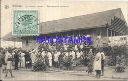 101729 AFRICA CONGO BELGE BELGIUM BELGISCH CONGO KINSHASA TERRITORIAL ADMINISTRATION POSTAL POSTCARD - Postcards