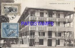 101730 AFRICA CONGO BELGE BELGIUM BELGISCH CONGO KINSHASA GREAT HOTEL POSTAL POSTCARD - Postcards