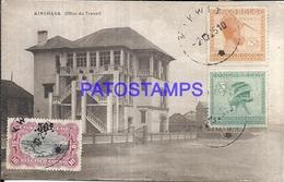 101731 AFRICA CONGO BELGE BELGIUM BELGISCH CONGO KINSHASA LABOR OFFICE POSTAL POSTCARD - Postcards