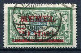 42416) MEMEL # 39 Gestempelt Aus 1921, 35.- € - Klaipeda