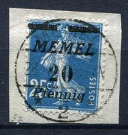 42417) MEMEL # 57 Gestempelt Aus 1922, 50.- € - Klaipeda