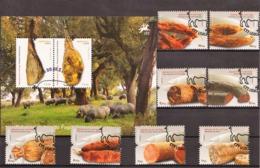 2012 - Sabores Do Ar E Do Fogo II (Ref. Nº Pu 261) - Used Stamps