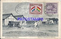 101732 AFRICA CONGO BELGE BELGIUM BELGISCH CONGO KINSHASA NEW STORES POSTAL POSTCARD - Postcards