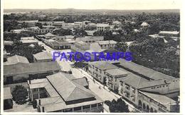 101735 AFRICA CONGO BELGE BELGIUM BELGISCH CONGO LEOPOLDSTAD VIEW PANORAMA POSTAL POSTCARD - Postcards