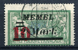 42420) MEMEL # 121 Gestempelt Aus 1923, 17.- € - Klaipeda