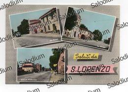 (*) Saluti Da SAN LORENZO - CASTELLUCCHIO - MANTOVA - Camion Car Truck Om - Statale Viadana - Mantova