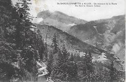 MONTAGNE 04 BARCELONNETTE A ALLOS LA GRANDE SOLANE - Alpinisme