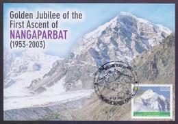 PAKISTAN 2003 - NANGAPARBAT MOUNTAINS, MAXIMUM CARD - Pakistan