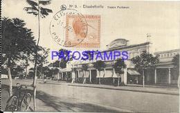 101745 AFRICA CONGO BELGE BELGIUM BELGISCH CONGO ELISABETHVILLE THEATER PARTHENON  POSTAL POSTCARD - Postcards